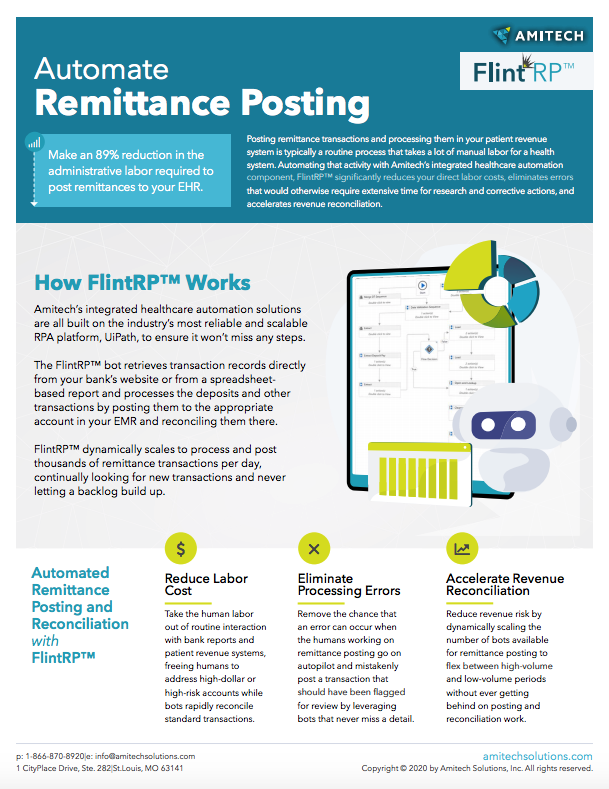 automate remittance posting